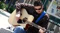 Sidewalk Guitarist Footage