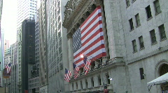 Wall Street, various Stock Footage