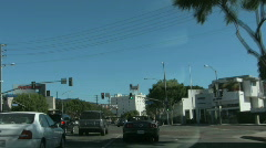 Beverly Hills in Los Angeles, California - stock footage