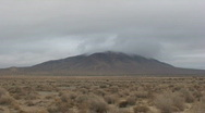 Peak Low Clouds-D, Johnson Valley, Time Lapse Stock Footage