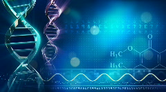 DNA background animation - stock footage