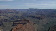 Grand Canyon Timelapse--Tip of Shoshone Point and Zoroaster Temple Stock Footage
