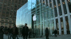 Apple Store Stock Footage