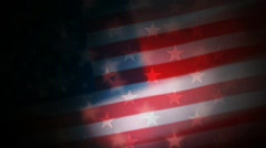 US flag Stock Footage