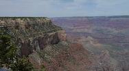 Grand Canyon Shoshone Point Pan Stock Footage