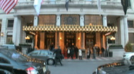 The Plaza Hotel in New York City Stock Footage