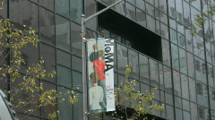 Museum of Modern Art in New York City Stock Footage