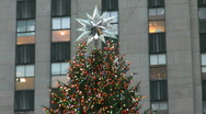 Rockefeller Center in New York City Stock Footage