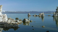 Mono Lake at South Tufa Stock Footage