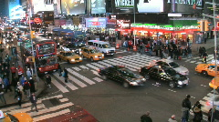 Times Square, New York City Stock Footage