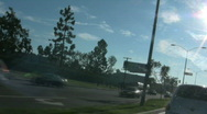 Traffic in Los Angeles, California Stock Footage