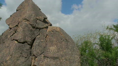 Petroglyph Time Lapse Stock Footage