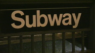 Stock Video Footage of New York City Subway