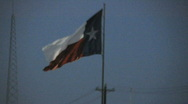 Stock Video Footage of Texas flag