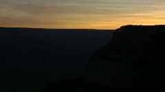 Grand Canyon Sunrise Timelapse Stock Footage