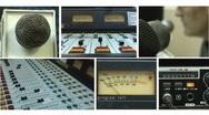 HD Radio Cabin 3 Stock Footage