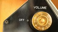 Knob volume 07 HD Stock Footage