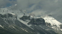 Rundle Mountain TL 5 PJ Stock Footage