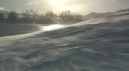 Stock Video Footage of DRIFTING SNOW