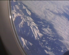 View from plane 02 Stock Footage