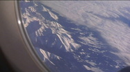 Stock Video Footage of View from plane 02