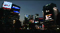 Shibuya, Tokyo Night Scene. Fashion Center Of Japan. Nightlife Area HD Footage