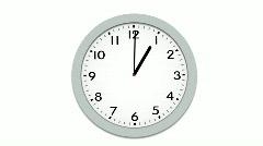 Clock Timelapse Loop Stock Footage