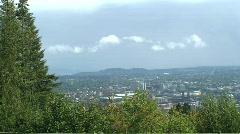 Portland Cloudy Stock Footage
