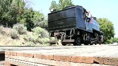 Old Steam Locomotive - stock footage