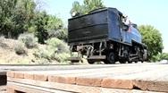 Old Steam Locomotive Stock Footage
