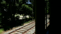 Stream Train Ride 2 - stock footage