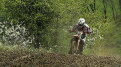 motocross outdoor - stock footage