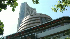 Bombay Stock Exchange 1 Stock Footage