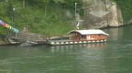 Stock Video Footage of Basel house boat