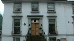 Abbey Road the Beatles Studio - stock footage