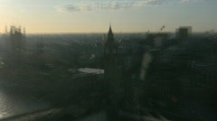 Various scenery in London, England Stock Footage