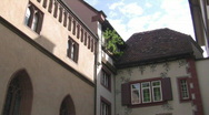 Stock Video Footage of Basel abbey detail