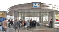 Brussels Metro Stock Footage