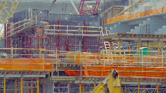 Construction of the new Florida Marlins Stadium Stock Footage