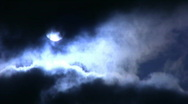 Stock Video Footage of Time Lapse Moon and Clouds 05 x2