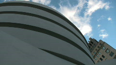Guggenheim Museum in New York City Stock Footage
