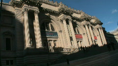 The Metropolitan Museum of Art, New York City Stock Footage