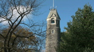Stock Video Footage of Belvedere Castle, Central Park, New York City