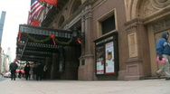 Stock Video Footage of Carnegie Hall, New York City