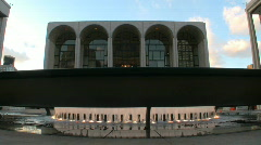 Lincoln Center for the Performing Arts in New York City Stock Footage