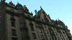 The Dakota in New York City Stock Footage