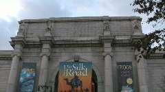 American Museum of Natural History in New York City Stock Footage