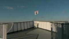 Verrazano-Narrows Bridge to Staten Island, New York City Stock Footage