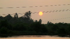 Sunset in Goa Stock Footage