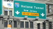 Stock Video Footage of holland tunnel #85